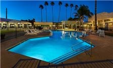 Tucson Hotel - Pool at evening